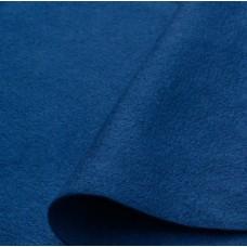 Флис, цвет синий 35 х 50 см