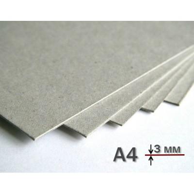 Переплетный картон А4 3 мм