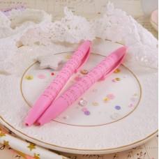 Ручка автоматическая с розовым корпусом
