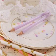 Простой карандаш НВ лилового цвета