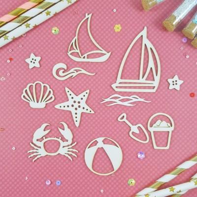 Чипборд Детский морской набор