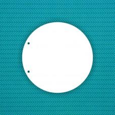Заготовка альбома Круг (2 отверстия) - 6шт.