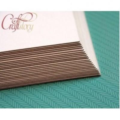 Пивной картон с закругленными углами 14,8 х 21 см