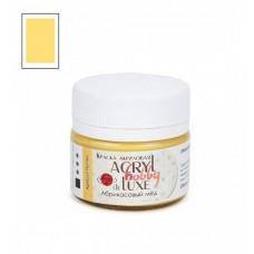 Акриловая краска Acryl hobby deLuxe, Абрикосовый мед