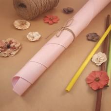 Переплётный матовый кожзам - Светло-розовый