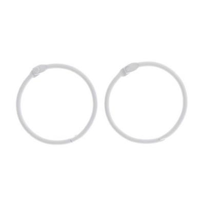 Кольца для альбомов белые, 45 мм