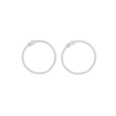 Кольца для альбомов белые, 30 мм
