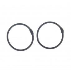 Кольца для альбомов черные, 45 мм