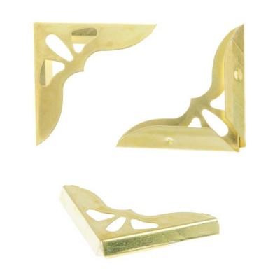 Металлические уголки Золото