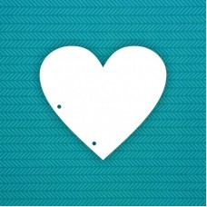 Заготовка Сердце (2 отверстия)