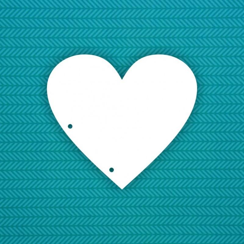 Картинка среднего сердца