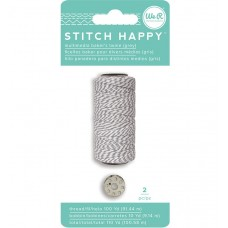 Шнур для шитья и декора Stitch Happy Baker's Twine — Grey