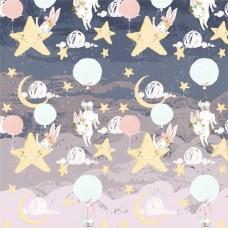 Бумага для скрапбукинга Небесное приключение - Звездное небо 30,5 х 30,5