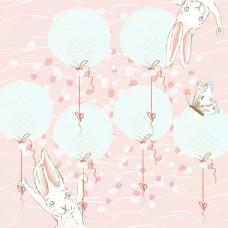 Бумага для скрапбукинга Небесное приключение - Воздушные шары 30,5 х 30,5
