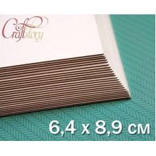 Пивной картон 6,4 х 8,9 см (2,5 х 3,5 inch)
