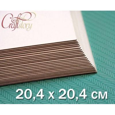 Пивной картон 20,4 х 20,4 см (8 х 8 inch)