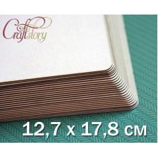 Пивной картон с закругленными углами 12,7 х 17,8 см (5 х 7 inch)