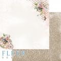 Бумаги для скрапбукинга Очарование -  Нежность 30,5х30,5 см