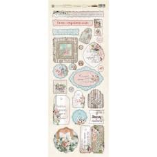 Набор чипборда коллекция Очарование 28 элементов