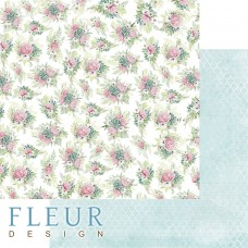 Бумаги для скрапбукинга Дыхание весны - Пионовый букет 30,5х30,5 см