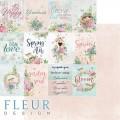 Бумаги для скрапбукинга Дыхание весны - Карточки 30,5х30,5 см