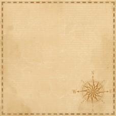 Бумага для скрапбукинга Дневник туриста. Курс на счастье 30,5 х 30,5