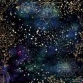 Бумага для скрапбукинга Тайны вселенной. Звездный путь 30,5 х 30,5