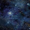 Бумага для скрапбукинга Тайны вселенной. Млечный путь 30,5 х 30,5