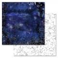 Бумага для скрапбукинга Тайны вселенной. Бесконечность 30,5 х 30,5