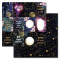 Бумага для скрапбукинга Тайны вселенной. Карточки 30,5 х 30,5