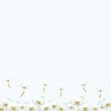 Бумага для скрапбукинга Клубничное детство. Воздушная любовь 30,5 х 30,5