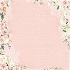 Бумага для скрапбукинга Мечты невесты. Карточки 30,5 х 30,5