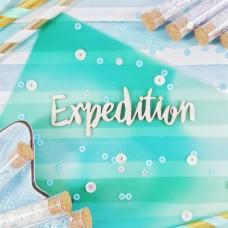Чипборд Надпись Expedition