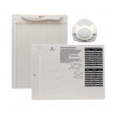 Доска для создания конвертов и открыток в комплекте с дыроколом угла