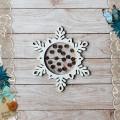 Шейкер Сканди Новый Год. Снежинка