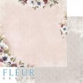 Бумага для скрапбукинга Сладкие праздники. Блеск цветов 30,5х30,5