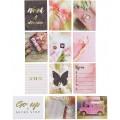Набор карточек Pretty pink 7,5 х 10 см