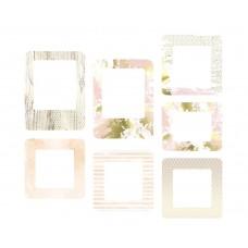 Набор рамочек Pretty pink. Розовый букет, 7 элементов