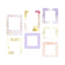 Набор рамочек Pretty violet. Нежная сирень, 7 элементов