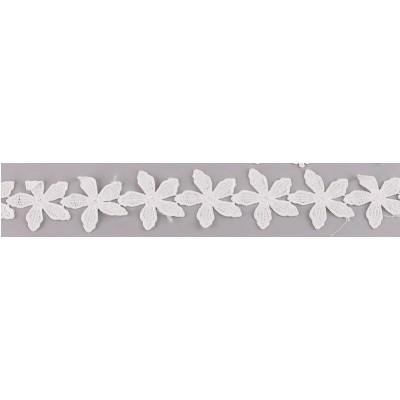 Кружево, Белые цветки 45 см