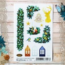 Набор наклеек Сканди Новый год. Декор