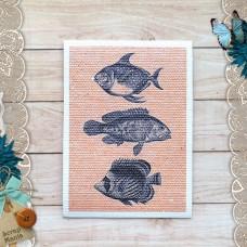 Тканевая карточка Мой капитан. Рыбы