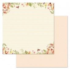 Бумага для скрапбукинга Варенье из одуванчиков. Солнечный денек 30,5 х 30,5 см
