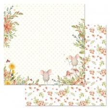 Бумага для скрапбукинга Варенье из одуванчиков. Какой чудесный я! 30,5 х 30,5 см