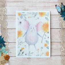 Тканевая карточка Варенье из одуванчиков. Мышка
