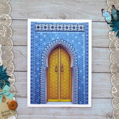 Тканевая карточка Сердце востока. Медовая дверь