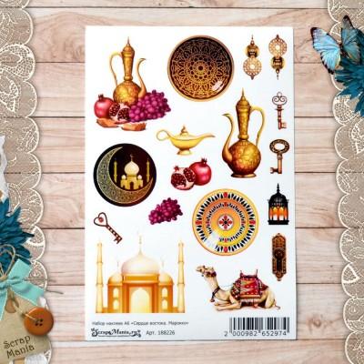 Набор наклеек Сердце востока. Марокко