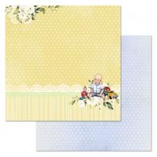 Бумага для скрапбукинга Шалунишка. Весь в папу 30,5 х 30,5 см