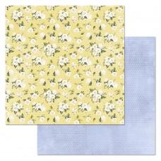 Бумага для скрапбукинга Шалунишка. Нежность 30,5 х 30,5 см