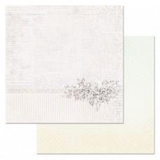 Бумага для скрапбукинга Цветочная вуаль. Страница 30,5х30,5 см